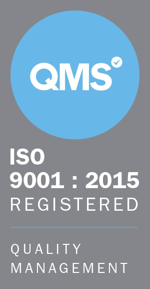 ISO 9001:2015 badge